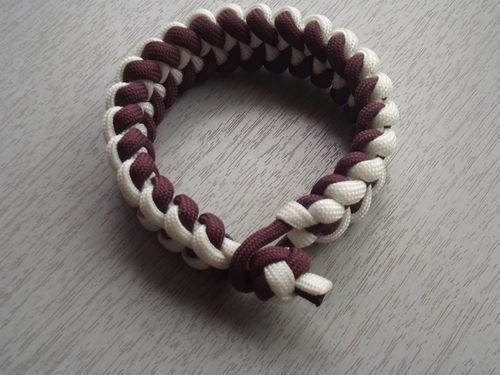 PARACORD WHITE-BROWN