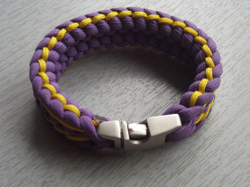 PARACORD PURPLE-YELLOW