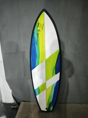 "5.5 x 19"" 3/4 x 2"" 1/8 Shortboard/Riverboard"