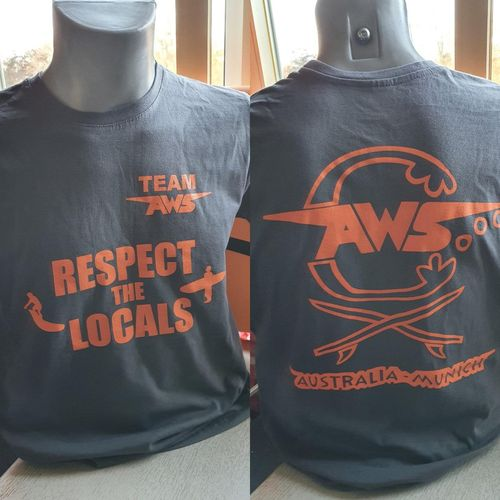 T - SHIRT TEAM RESPECT the locals